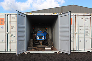 Vehicle Shipping Container